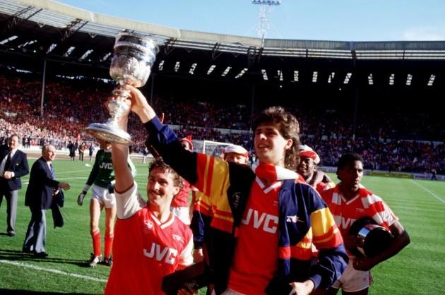 Soccer - Littlewoods Cup - Final - Arsenal v Liverpool - Wembley Stadium