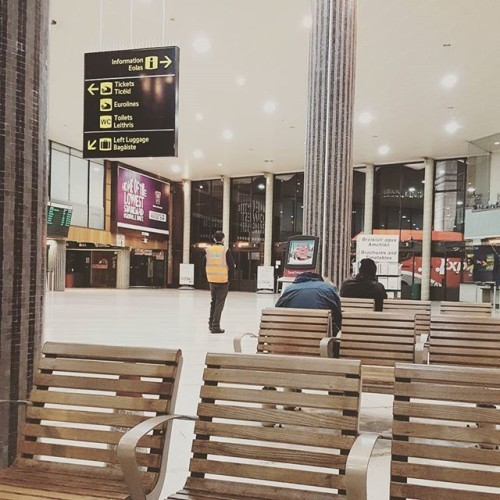 A 5:50 am start for Engage Ireland today @Busaras terminal. The bus to Wexford for the INTO union conference and the train for @lj_chapman to Kerry for the TUI conference. We've got loads of events on around Ireland! Email Kate.mills@engageeducation.ie for more details. #ireland #bus #train #travel #travelireland #busaras #dublin #kerry #TUI #INTO #irishteachers #teachersunion #events #socialmedia #earlymorning #mondayonatuesday #backintheswingofthings #iteachtoo