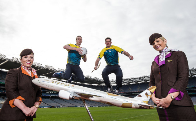 Leanne McGarry, Colin Fennelly, Colm Cavanagh, and Charlene O'Shea