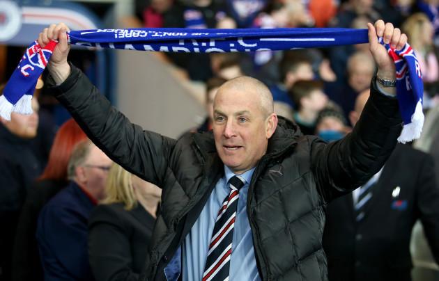 Rangers v Dumbarton - Ladbrokes Scottish Championship - Ibrox Stadium
