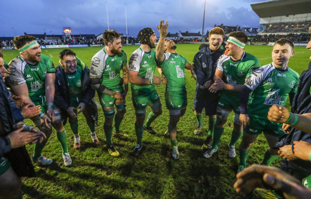 John Muldoon and his team celebrate
