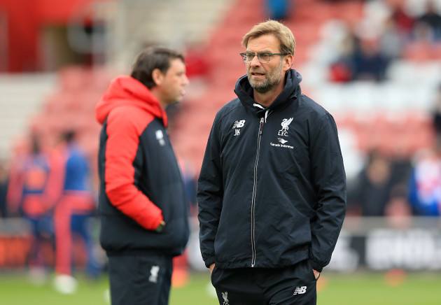 Southampton v Liverpool - Barclays Premier League - St Mary's Stadium