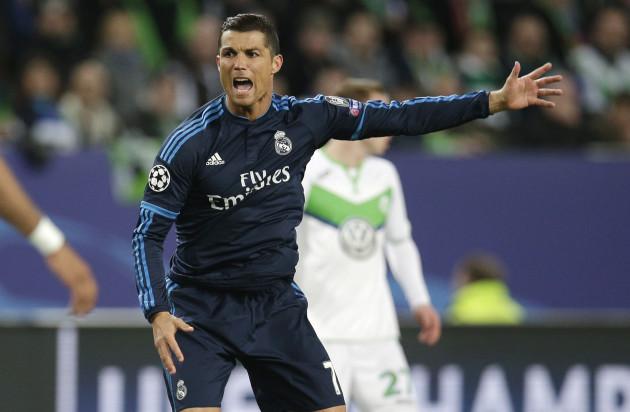 Wolfsburg v Real Madrid - UEFA Champions League - Quarter Final - First Leg - Volkswagen Arena
