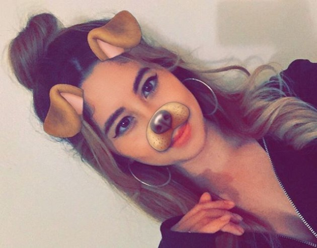 Young teen snapchat selfies