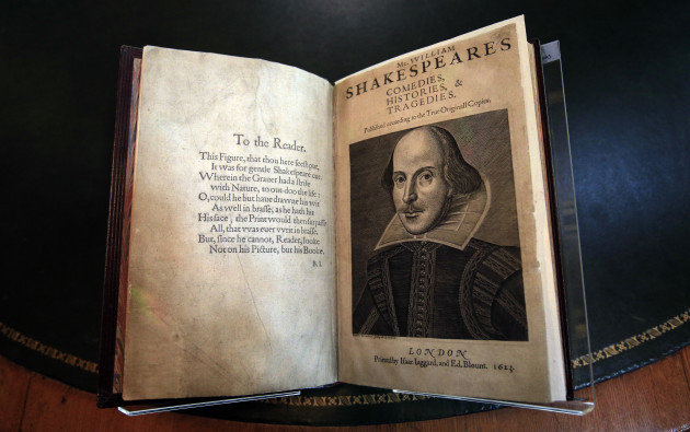 Priceless 400 Year Old Shakespeare First Edition Discovered On Scottish Island