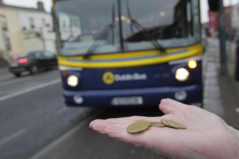 Dublin bus fare increase
