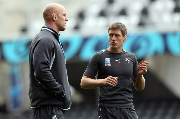Paul O'Connell and Ronan O'Gara