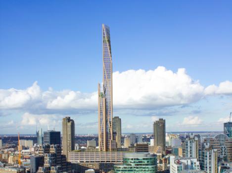 oakwood tower barbican view