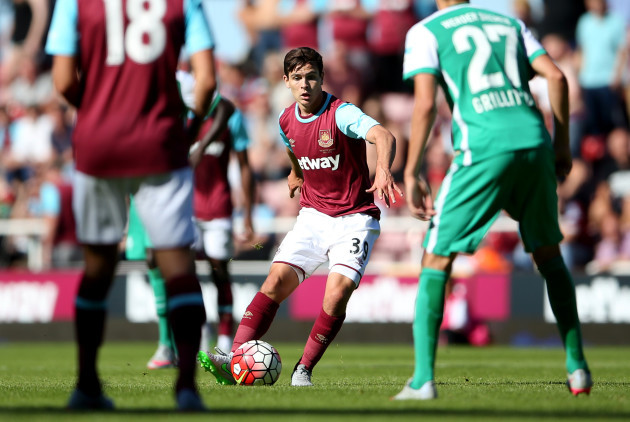 Soccer - Pre Season Friendly - West Ham United v Werder Bremen - Upton Park