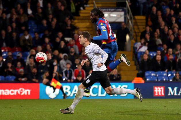 Crystal Palace v Everton - Barclays Premier League - Selhurst Park
