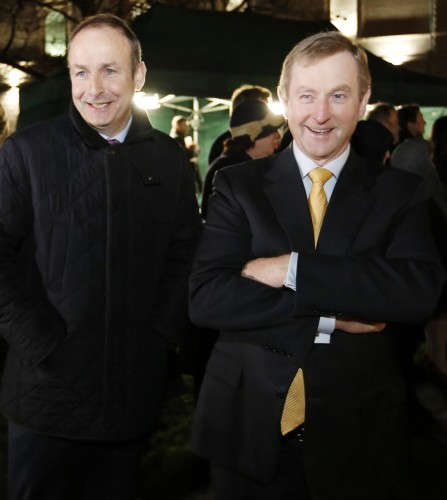File Photo: Micheal Martin and Caretaker Taoiseach Enda Kenny to meet this afternoon after second failed attempt to elect a taoiseach following the results of the 2016 General Election.