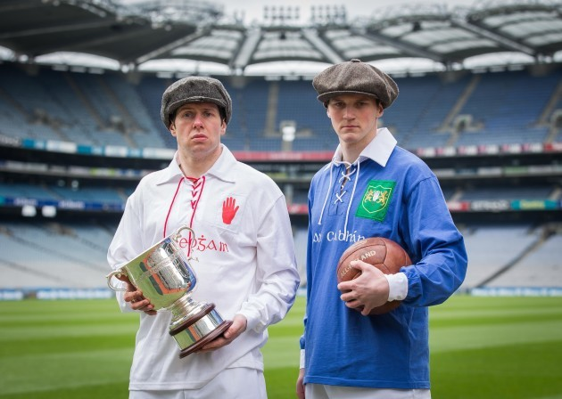 Sean Cavanagh and Gearoid McKiernan