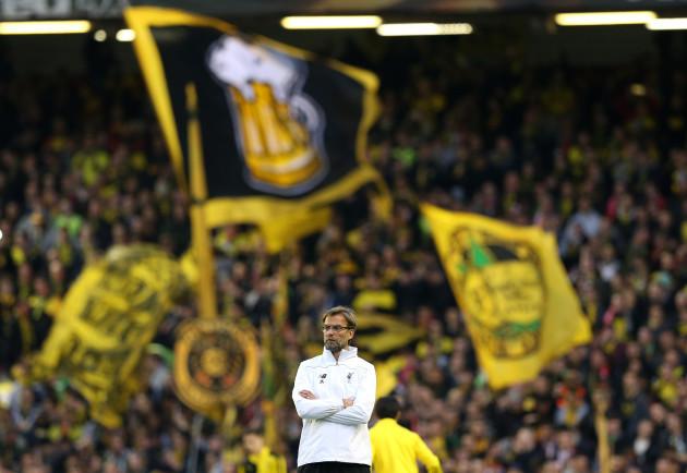 Liverpool V Borussia Dortmund Uefa Europa League Quarter Final Second Leg Anfield