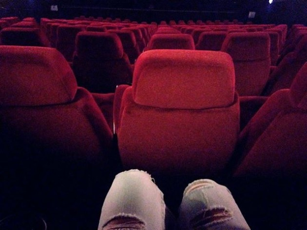 Oh dear am the only one in the cinema