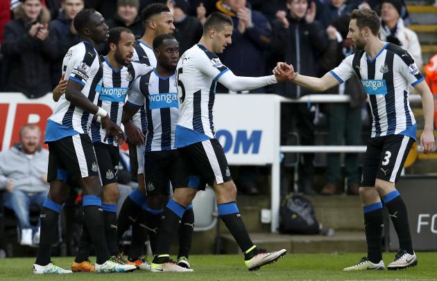 Newcastle United v Swansea City - Barclays Premier League - St James' Park
