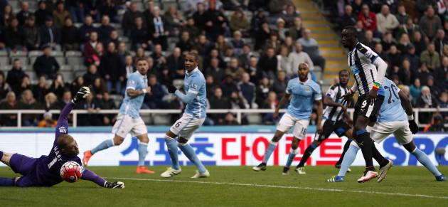 Newcastle United v Manchester City - Barclays Premier League - St James' Park