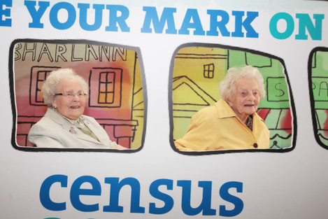 23/03/2016. Official launch of Census 2016. Pictur