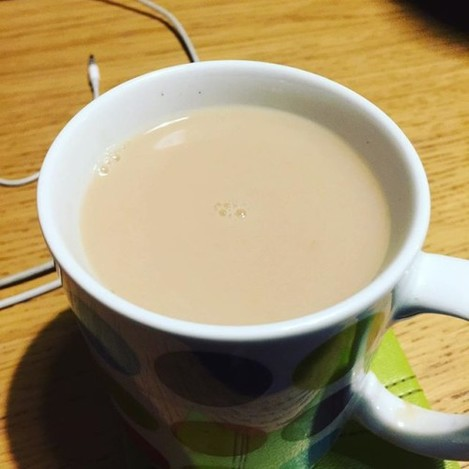 When your mam makes you a cuppa like this!!! She needs to go #badtea #whatshadeisthis