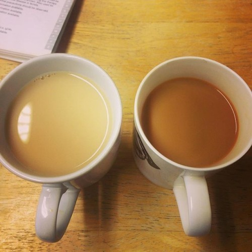 @franjellyfish you absolute freak. That's not even tea. It's milk and water! #tea #badtea #isthiseventea #VetNurseLife