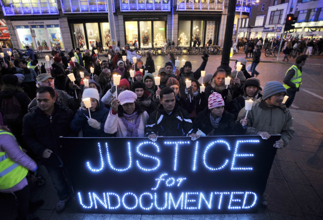 17/12/2011 Undocumented Campaigns Protests