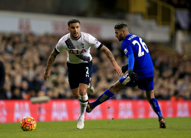 Tottenham Hotspur v Leicester City - Barclays Premier League - White Hart Lane