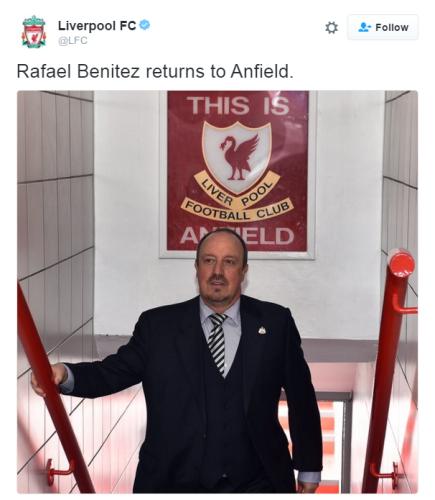 Benitez Anfield