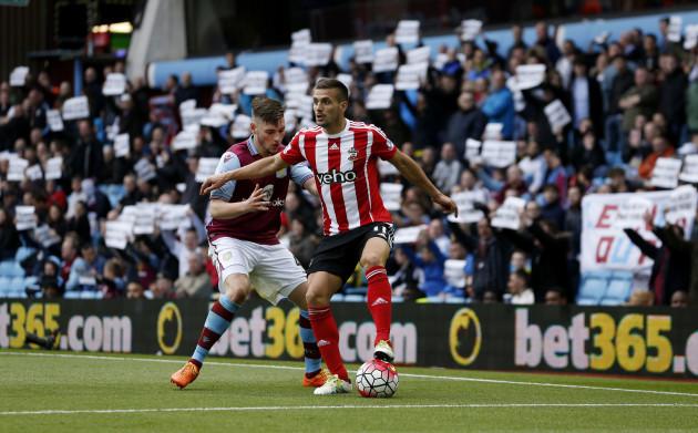 Aston Villa v Southampton - Barclays Premier League - Villa Park