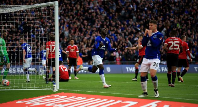 Everton v Manchester United - Emirates FA Cup - Semi-Final - Wembley Stadium