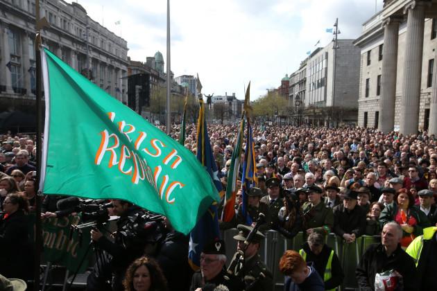 24/04/2016. Sinn Fein Comemoration. Pictured hundr