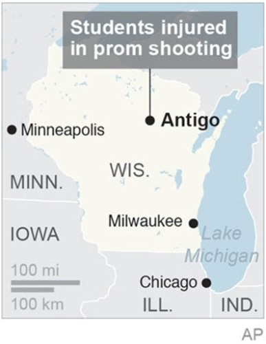 WIS PROM SHOOTING