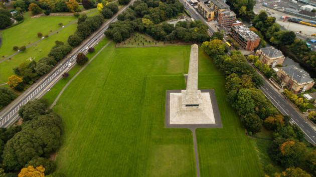 Wellington Denkmal in Dublin, Irland