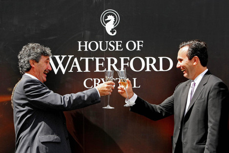 Waterford Crystal resumes production