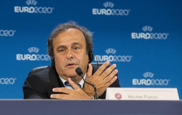 Michel Platini File Photo
