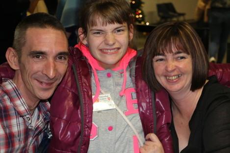 Sharon and Danny Lynch welcome Nastya 'home'  Christmas 2015