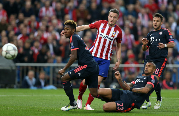 Atletico Madrid v Bayern Munich - UEFA Champions League - Semi Final - First Leg - Estadio Vicente Calderon
