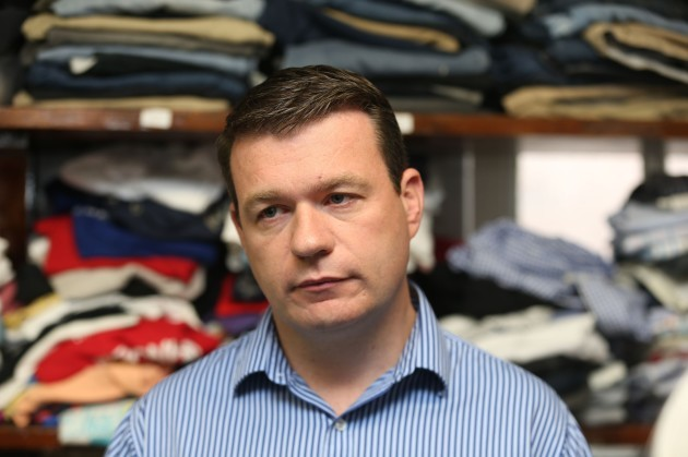 Alan Kelly visits homelessness service