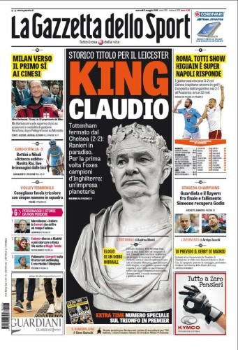 julius caesar newspaper