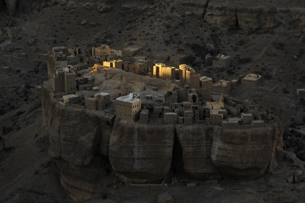 Yemeni fortress.