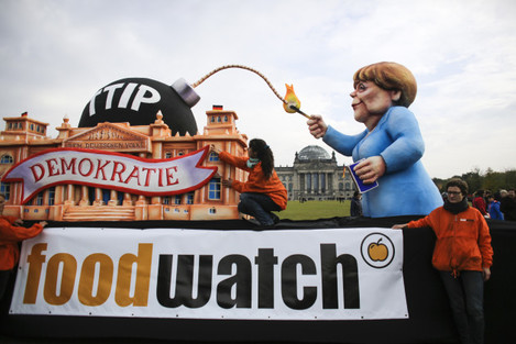 Germany TTIP Protest