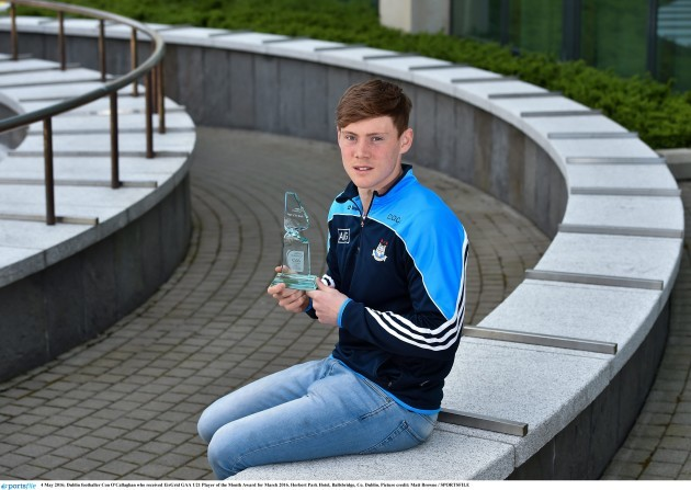 EirGrid GAA U21 Player of the Month for March 2016