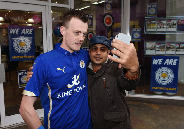 Leicester City players at San Carlo Pizzeria