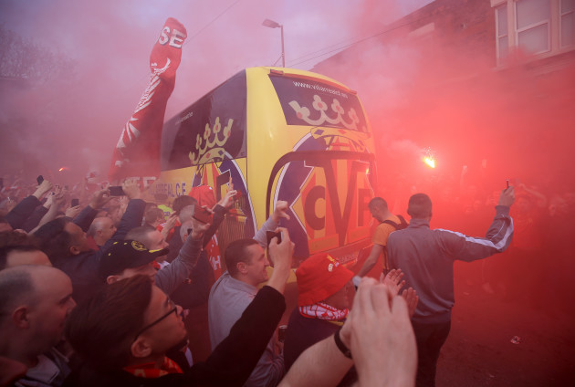 Liverpool v Villarreal - UEFA Europa League - Semi Final - Second Leg - Anfield