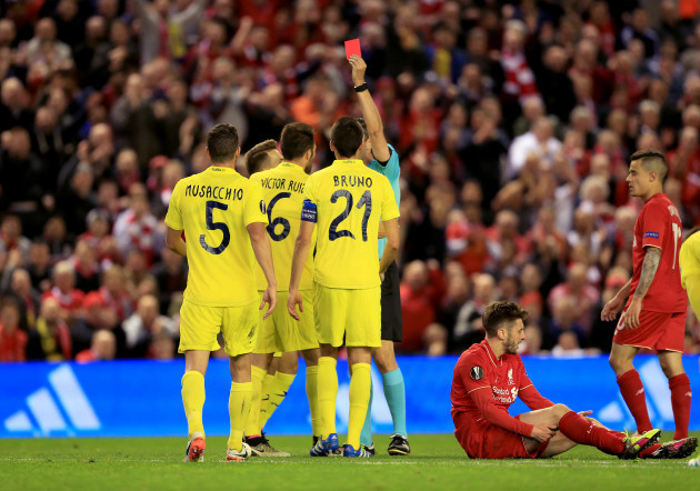 Liverpool v Villarreal - UEFA Europa League - Semi Final - Second Leg - Anfield