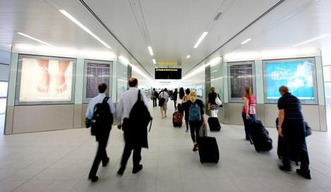 Gatwick Shuttle inter-terminal transit train launch