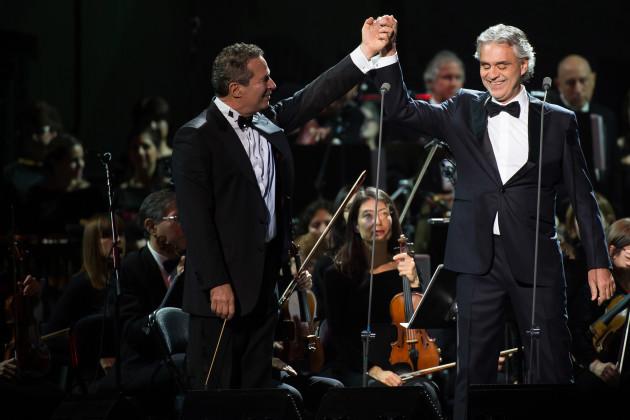 Andrea Bocelli in Concert - New York