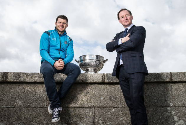 Kevin McManamon with Jim Gavin