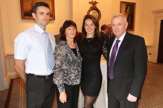 Peter, Angela, Jenny and Tom Egan