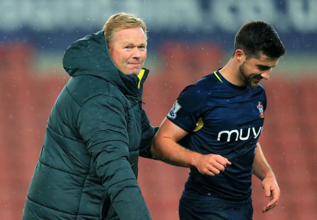 Soccer - Capital One Cup - Fourth Round - Stoke City v Southampton - Britannia Stadium