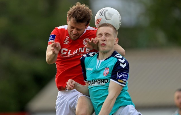 Ger O'Brien with Ronan Curtis