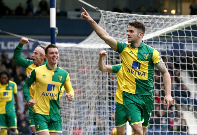 West Bromwich Albion v Norwich City - Barclays Premier League - The Hawthorns